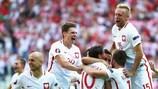 Festa dos jogadores polacos