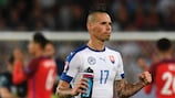 Marek Hamšík and his Slovakia side must wait to see if they are in the round of 16