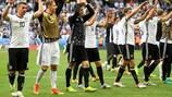 La Germania si presenta ai quarti di finale da tre volte campione d'Europa