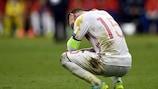 Sergio Ramos at full time