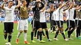 Germany go into their quarter-final as three-time winners