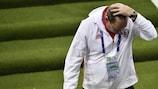 Leonid Slutski non nasconde la frustrazione dopo la sconfitta contro il Galles