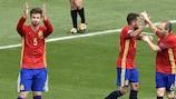Spain v Czech Republic - LIVE