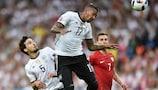 Mats Hummels e Jérôme Boateng têm jogado no eixo da defesa da Alemanha