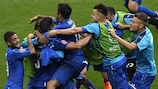 Italy revel in their eye-catching win against Spain