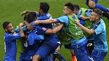 Le protagoniste dei quarti: Italia