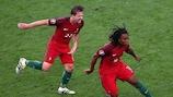 Renato Sanches scored against Poland in Marseille