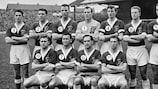 Foto: A selecção do País de Gales no Mundial de 1958