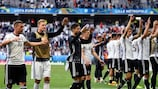 Germany were too strong for Slovakia but must improve against Italy or Spain
