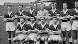 Wales line up in 1958