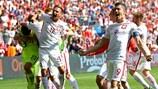 Poland are through to the UEFA EURO 2016 quarter-finals