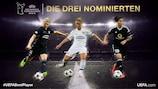 Die drei besten Spielerinnen Europas