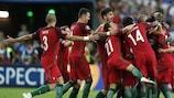 Portugal celebrate their final triumph