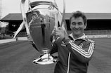 Brian Clough with the European Cup