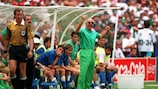 Arrigo Sacchi with Italy at the 1994 World Cup finals