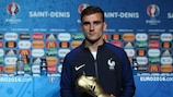 Antoine Griezmann vince la Scarpa d'Oro