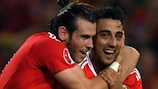 Gareth Bale and Neil Taylor: Together. Stronger.