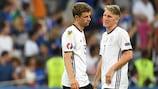 Thomas Müller e Bastian Schweinsteiger