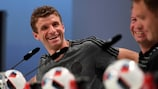 Thomas Müller in conferenza stampa