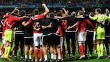 Galles e Portogallo tifano Germania
