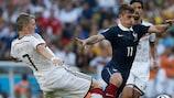 Bastian Schweinsteiger e Antoine Griezmann ai quarti di finale mondiali
