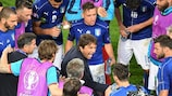 Antonio Conte rallies Italy before extra time of what proved his final game in charge