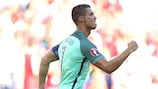 Cristiano Ronaldo iguala el récord de Platini