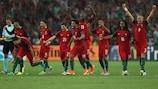 Portugal chegou às meias-finais em quatro das últimas cinco edições do EURO