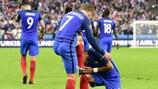 Poderio ofensivo de França aponta o caminho