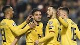 Eden Hazard s'offre un doublé et guide la Belgique vers le succès
