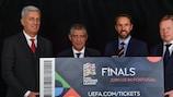 Registe o seu interesse em bilhetes para a fase final da UEFA Nations League