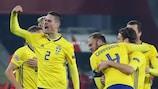 A Suécia venceu a Turquia