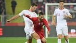 Portugal venceu por 3-2 na Polónia há pouco mais de um mês