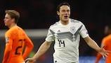 Nico Schulz a marqué le but victorieux des Allemands à Amsterdam
