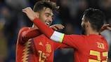 Brais Méndez marcou na sua estreia pela Espanha frente à Bósnia e Herzegovina