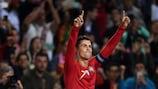 Cristiano Ronaldo viveu mais uma noite memorável