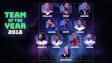 UEFA.com fans' Team of the Year 2018 revealed