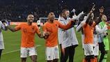 Angleterre, Pays-Bas, Portugal et Suisse en phase finale