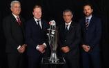 Les entraîneurs des 4 nations qualifiées