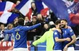 Olivier Giroud a fait le break pour la France