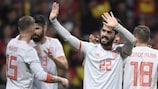 Spaniens Isco traf dreimal gegen Argentinien