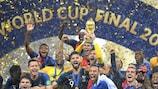 Francia con su segunda Copa del Mundo