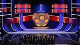 Imagen del sorteo celebrado este viernes en Moscú