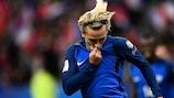 Antoine Griezmann marcó para Francia