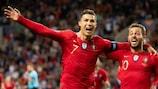 Cristiano Ronaldo et Bernardo Silva ont impressionné devant leur public