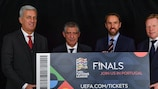 Register your interest in UEFA Nations League Finals tickets