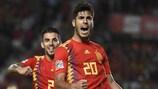 Marco Asensio, buteur pour la Roja contre la Croatie mardi