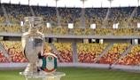 Le trophée du Championnat d'Europe de l'UEFA