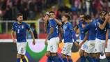 Italien feiert seinen späten Siegtreffer