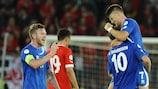 A Islândia recuperou de uma desvantagem de 4-1 para empatar 4-4 com a Suíça no apuramento para o Campeonato do Mundo da FIFA de 2014
